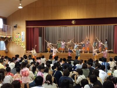 ダンス部、蒲郡あけぼの幼稚園夏祭りに出演:画像2