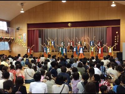 ダンス部、蒲郡あけぼの幼稚園夏祭りに出演:画像3