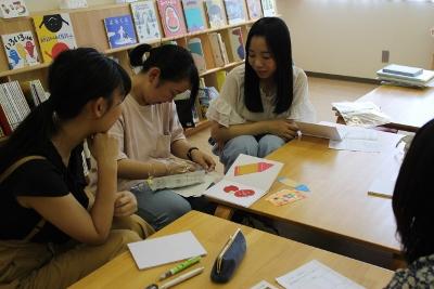 夏休み子ども広場「絵本をつくろう」の準備!:画像1