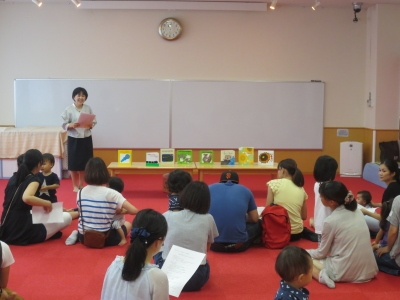親と子どもの発達センターで親子と絵本をたのしみました!:画像1