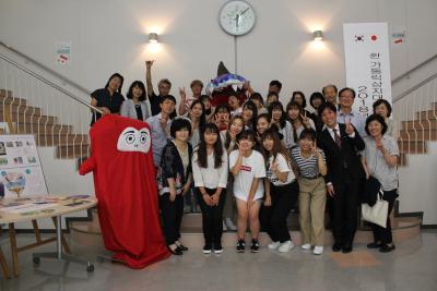 韓国の学生が岡崎に!:画像1