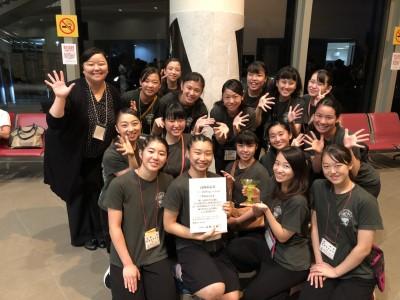 ダンス部が「高岡市長賞」を受賞しました:画像1
