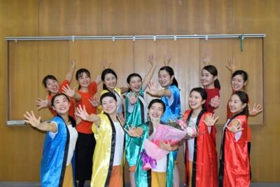 ダンス部が八柱神社奉納祭に参加しました:画像1