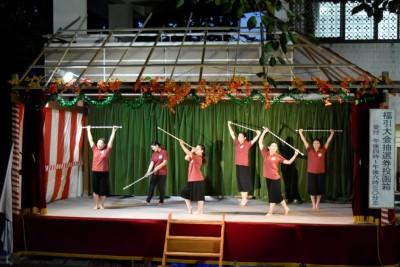 ダンス部が八柱神社奉納祭に参加しました:画像2