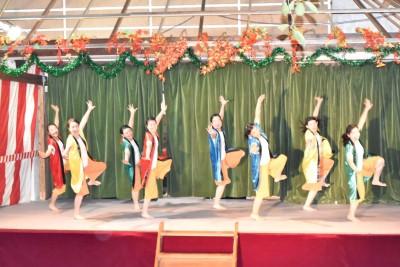 ダンス部が八柱神社奉納祭に参加しました:画像4