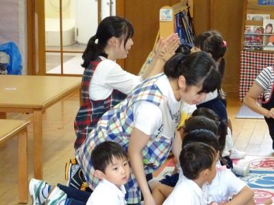 幼児教育学科第一部1年生「初めての実習」:画像2