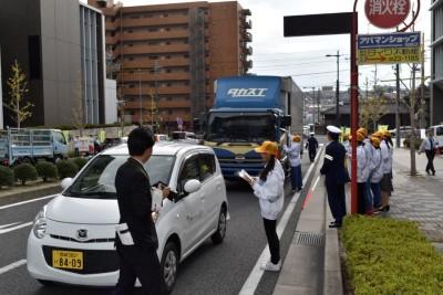 「横断歩行者保護キャンペーン」に参加しました。:画像2