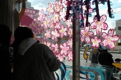 「美しい街岡崎」 岡信ウィンドウディスプレイ展示開始!!