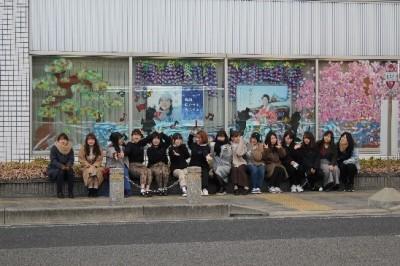 「美しい街岡崎」 岡信ウィンドウディスプレイ展示開始!!:画像4