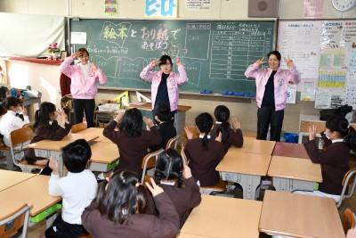 根石小学校『ふれあいフェスタ』に参加しました。:画像3