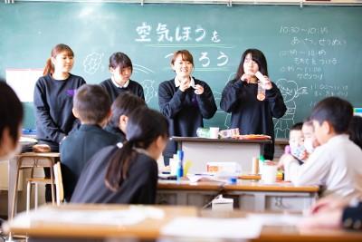 根石小学校『ふれあいフェスタ』に参加しました。:画像4