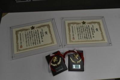 岡崎警察署から表彰されました。:画像1