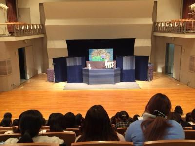 むすび座の人形劇の鑑賞会:画像2