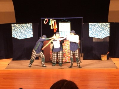 むすび座の人形劇の鑑賞会:画像3