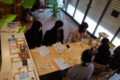 現代ビジネス学科の学生が、岡崎市の意見交換会に参加!