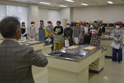【一人暮らしのためのお料理教室】を開催しました。