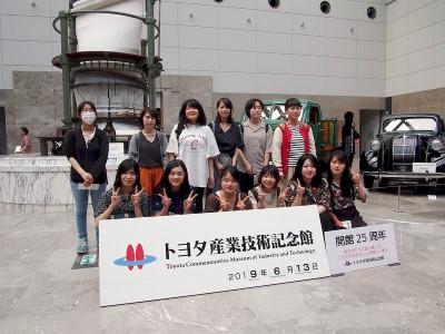 現代ビジネス学科「産学連携講座」名古屋での校外学習:画像3