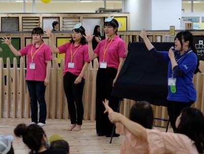 豊田市子育て総合支援センター「あいあいフェスタ」に参加しました