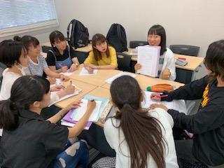 小学校教育実習に向けて先輩と交流!:画像4