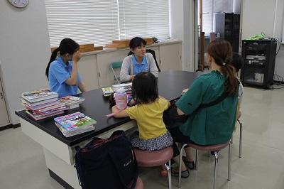 夏休み学習相談室開催:画像4