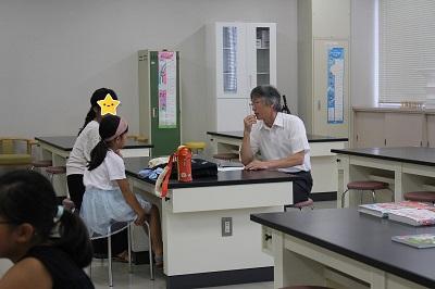 夏休み学習相談室開催:画像2