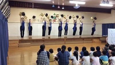 ダンス部:豊川市立萩保育園でダンスを披露しました:画像1