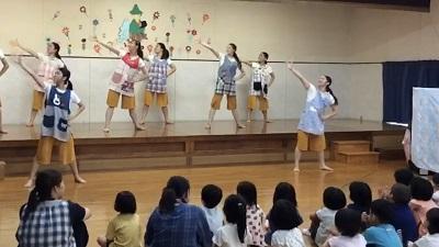 ダンス部:豊川市立萩保育園でダンスを披露しました:画像2
