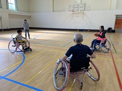 障がい者スポーツ体験会に参加して:画像1