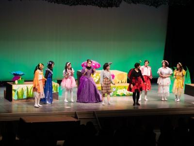 児童文化研究部はとぽっぽが定期公演を行いました。