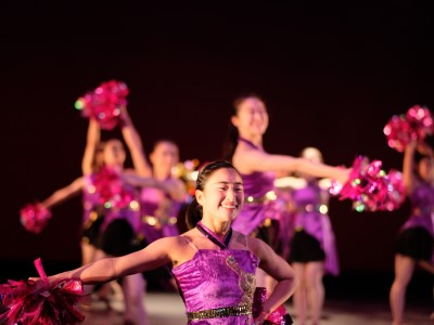 ダンス部が第7回作品発表会を開催しました。