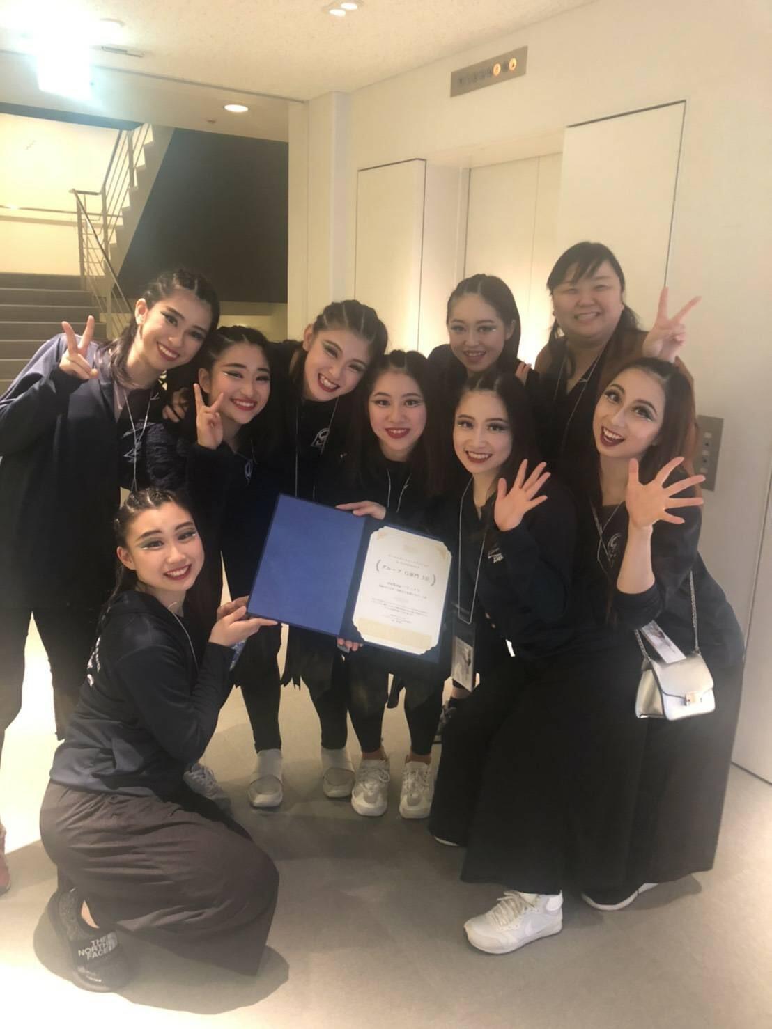 ダンス部が「入賞」及び「奨励賞」を受賞しました。:画像3