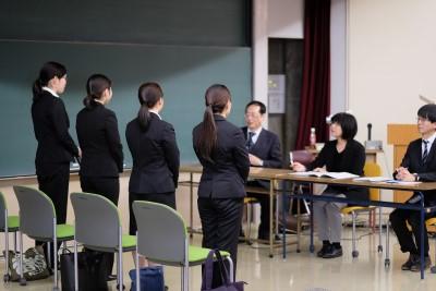 現代ビジネス学科1年では、就職活動準備が本格的にはじまりました!