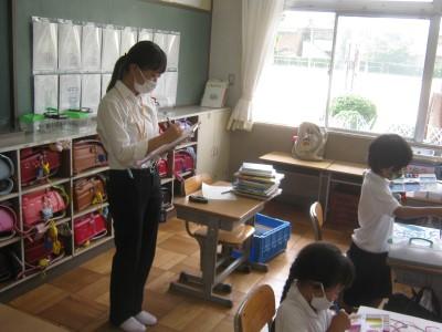 学校教育コースの2年生が小学校で教育実習をしました