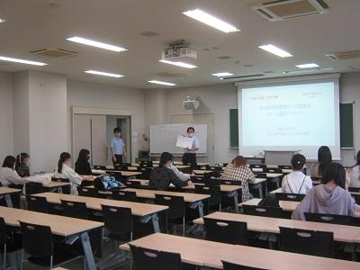 第2回 学校教育コース説明会を行いました