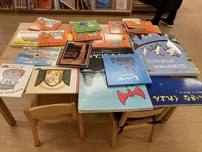 小原ゼミ・鈴木ゼミ 子ども図書室での実践―嫩幼稚園の子どもたちを招いて―:画像3